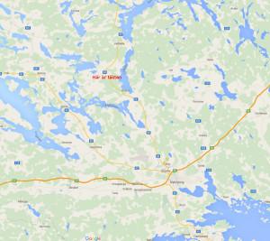 Täkt Husbygård karta